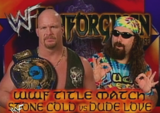 WWF -  Unforgiven 1998: In Your House 21 - Stone Cold Steve Austin vs. Dude Love - WWF Championship