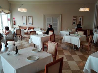 Restaurante del parador de Vic-Sau
