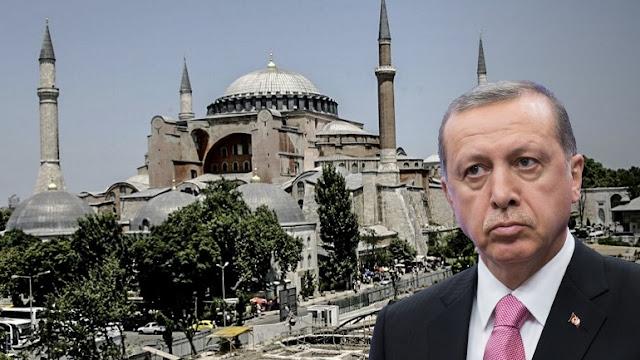 Ο Ερντογάν με την Αγία Σοφία δίνει τη χαριστική βολή στον κεμαλισμό