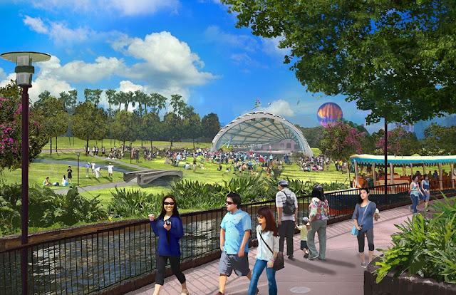 Công viên Kim Quy ngay cạnh dự án Eurowindow River Park