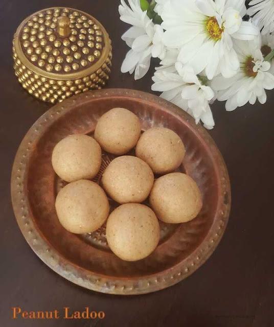 images of Peanut Ladoo/ Groundnut Laddu / Easy Peanut Ladoo / Healthy Ladoo Recipe / Quick Ladoo Recipe / 3 Ingredients Ladoo