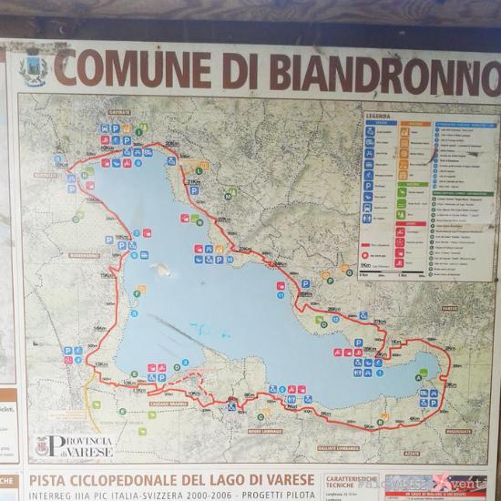 AiQuattroVenti giro del lago di Varese pista ciclopedonale