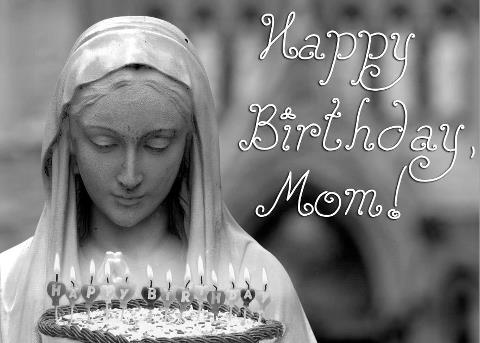 Image result for happy birthday virgin mary