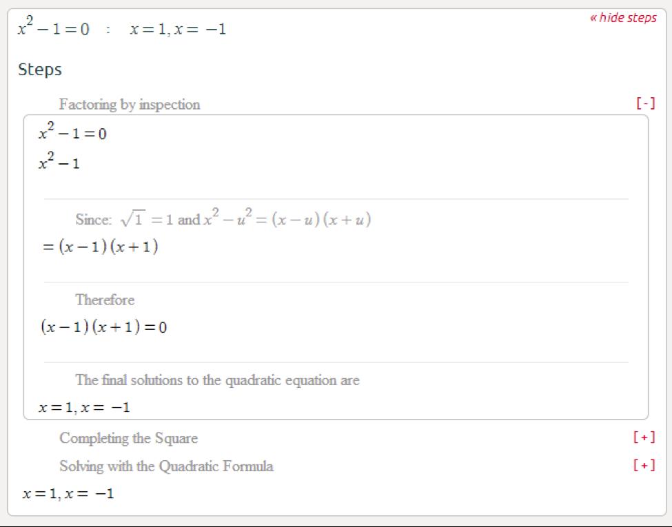Symbolab Blog High School Math Solutions  Quadratic