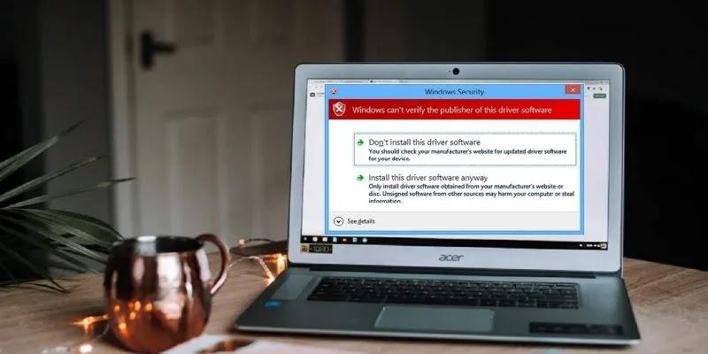 ظهرت كيفية تثبيت برامج تشغيل غير موقعة في نظام التشغيل Windows 10