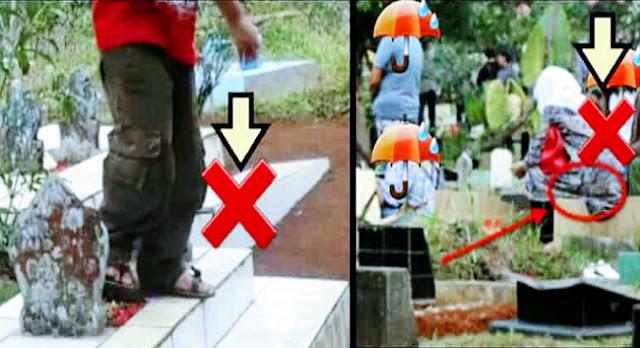 Ini Hukum Duduk di Atas Kuburan dan Melangkahinya