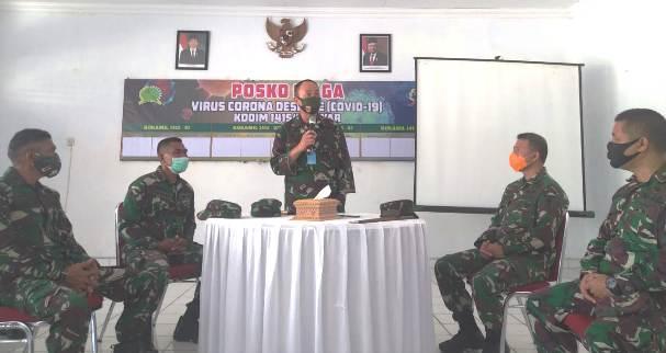 Tanggap Pandemi COVID-19, Pangdam XIV Hasanuddin Bantu 1 Unit Ambulance Ke Kodim 1415 Selayar
