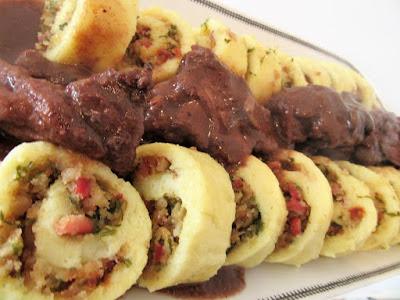 Zarolane knedle / Dumplings rolls