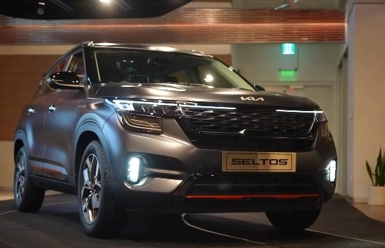 Kia Motors has showcased her Kia seltos X-Line.