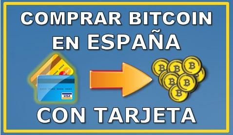 Comprar Bitcoin con Tarjeta en España