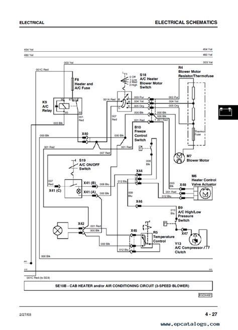 Wiring Diagram Blog  John Deere 250 Wiring Diagram