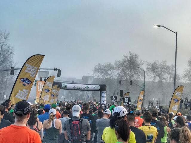 Shamrock'n Half Marathon start line