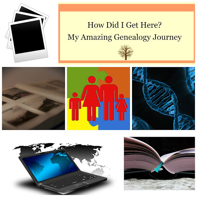 The Genealogy Blog Party --Remember The Descendants:  Passing Down The Stories. --How Did I Get Here? My Amazing Genealogy Journey