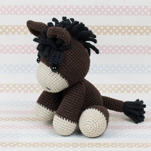 Baby Donkey Amigurumi - Free Pattern