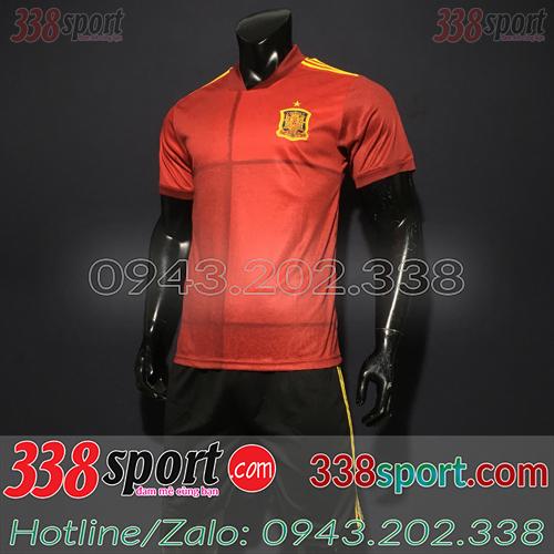 Áo Đội Tuyển Tây Ban Nha 2020 Sân Nhà Màu Đỏ