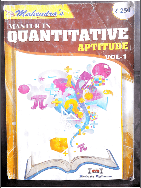 Quantitative Aptitude By Mahendra Publication : For Bank Exams PDF Book