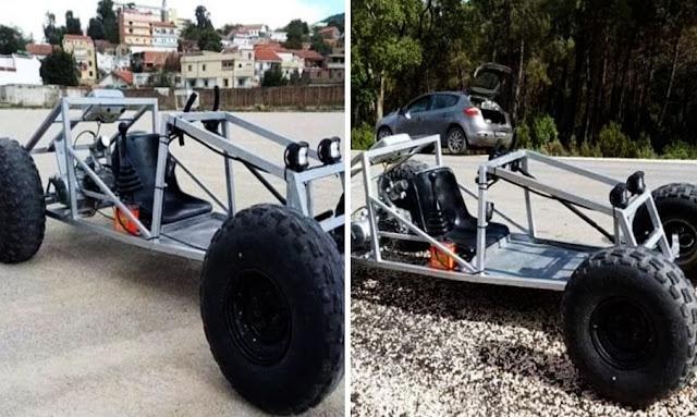 تونس- بالفيديو: عين دراهم ... شاب يصنع سيارة سباقات بسرعة 110 كلم/س