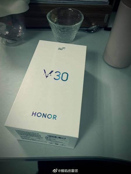 Unpacking the Honor V30 5G hours before the announcement