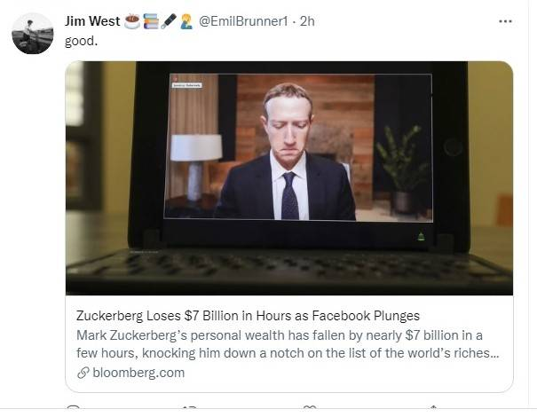 Whatsapp, Facebook, Instagram Error, Zuckerberg Rugi Rp99,5 Triliun