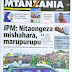 Tanzanian Today's Newspapers Tuesday 20th October, 2020