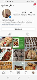 Akun instagram kuliner