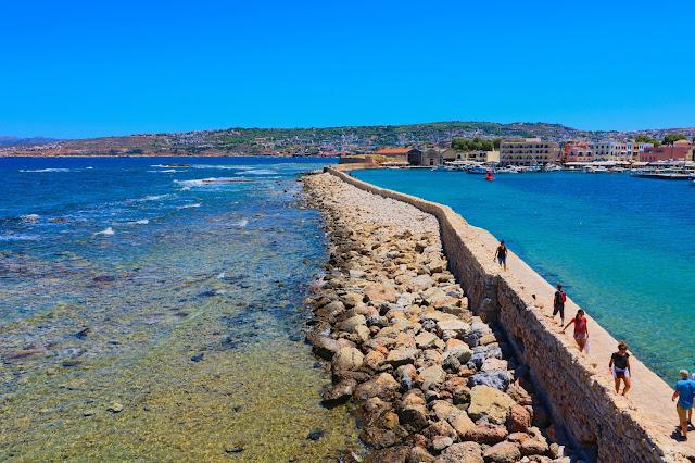 port wenecki, Chania, Kreta, Podróże, wakacje