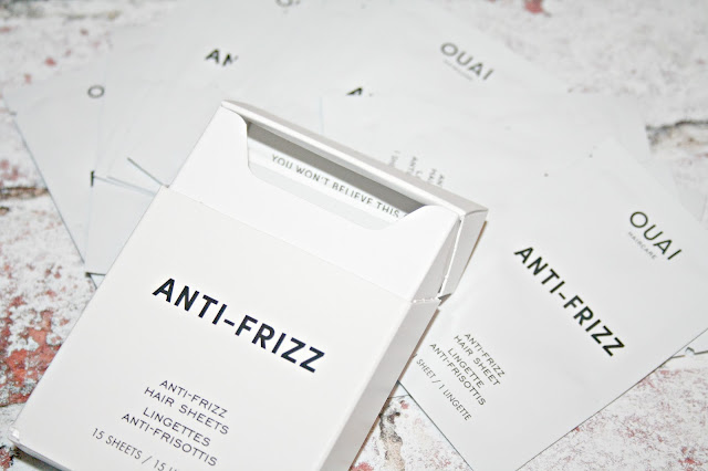 Ouai's Anti-Frizz Hair Sheets