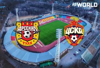 ЦСКА - Арсенал Тула смотреть онлайн бесплатно 02 декабря 2019 прямая трансляция в 19:30 МСК.