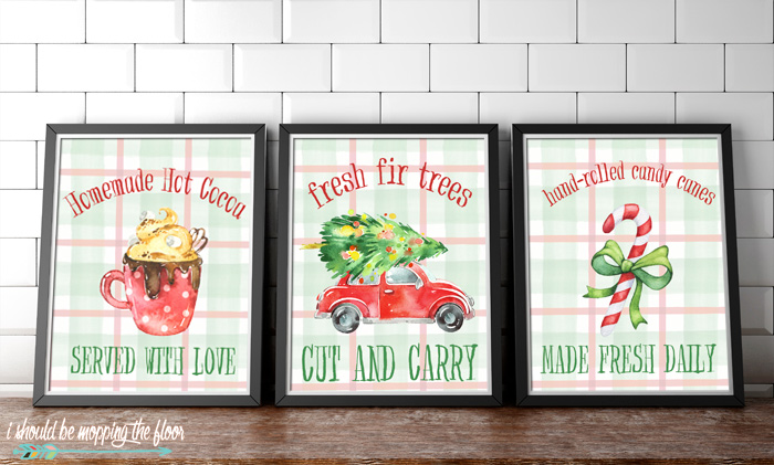 Three Free Printable Christmas Signs