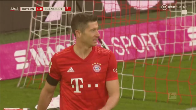 live streaming : BAYERN MUNICH vs EN FRANKFURT