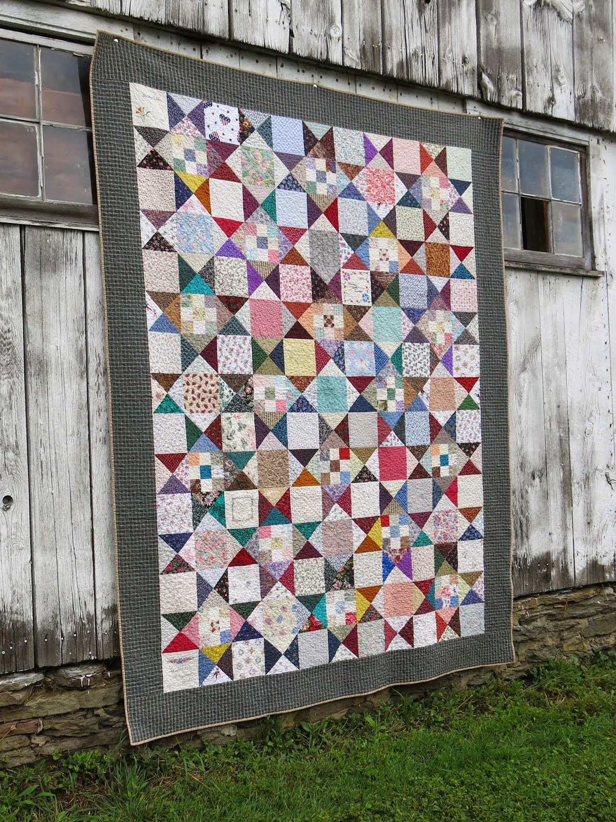 Learn Family Scrap Quilt