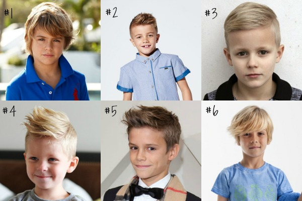 Easy Popular hairstyles for boys in 2019