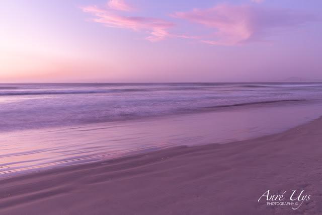 Long exposure at Milnerton Beach