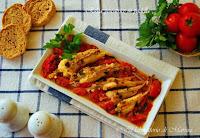 Πεσκανδρίτσα σαγανάκι με ντοματίνια - by https://syntages-faghtwn.blogspot.gr