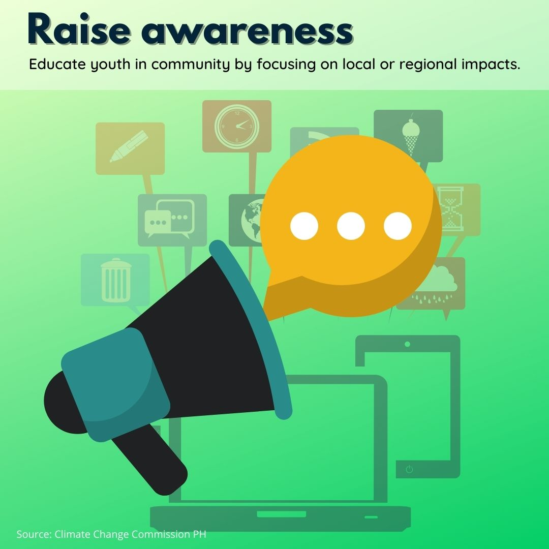 Raise Awareness Climate Change Poster