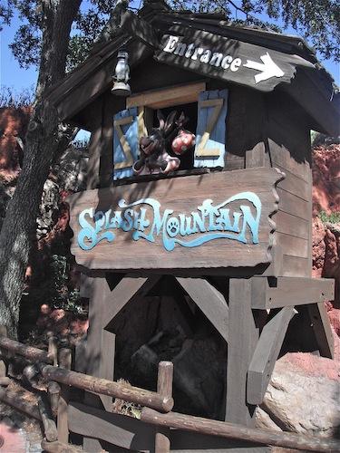 WDW Walt Disney World Frontierland Splash Mountain ...