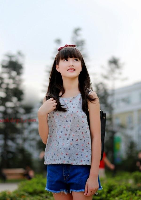 Hot girl Hà Vy 10X xinh hơn diễn viên Hàn Quốc, Hình ảnh hot girl