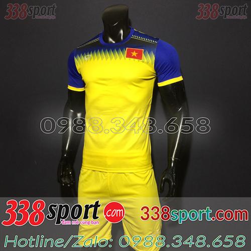 Áo Đội Tuyển Việt Nam 2019 2020 Training Vàng