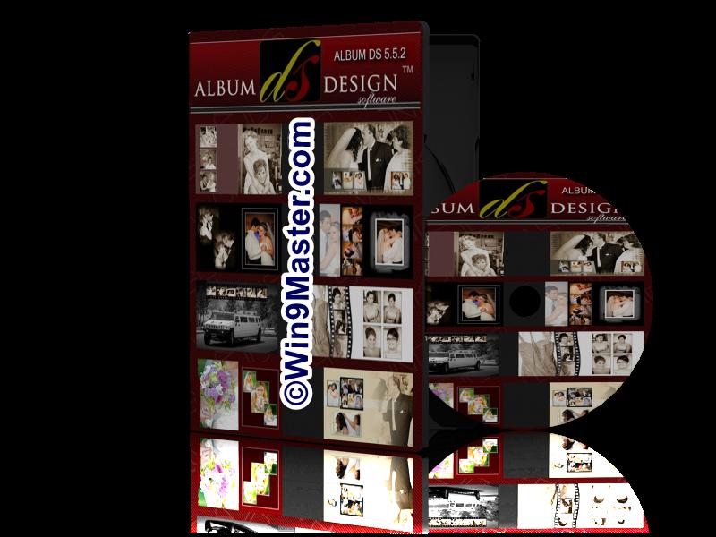 Software digital photo album wedding album ds 9 1 5 free for Album ds templates