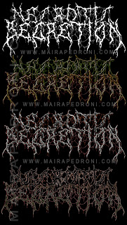 Death metal logo - Maira Pedroni - Graphics