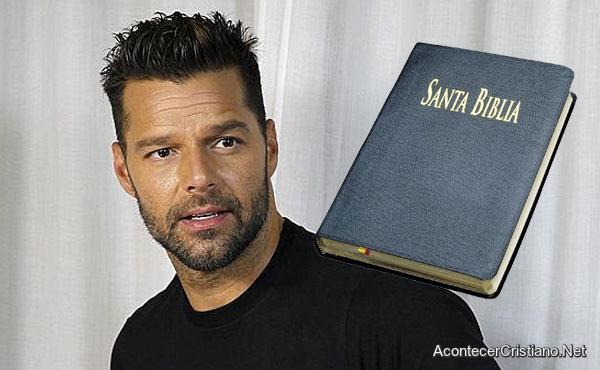 Ricky Martin acerca del matrimonio gay y la Biblia