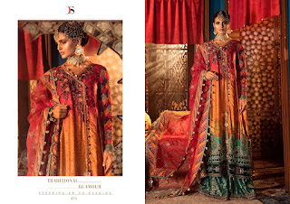 Deepsy Maria B Wedding Pakistani Suits