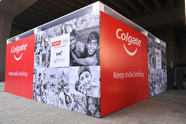 Mumbai's taxi drivers benefit from Colgate's free dental camps