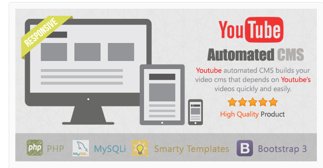 Free Source Code Script Youtube Automated CMS dari Codecanyon Siap Pakai