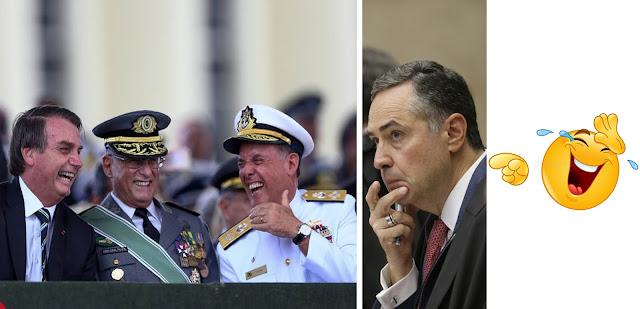 Militante político do STF é desafiado pelo presidente da República