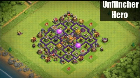 Best Town Hall 7 TH7 Farming Base Layout