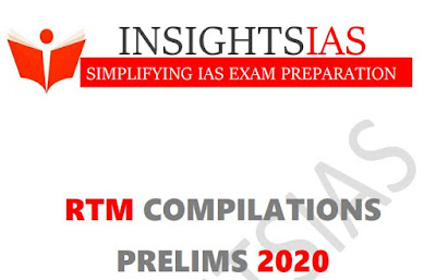 Insights IAS Revision Through MCQ May 2020