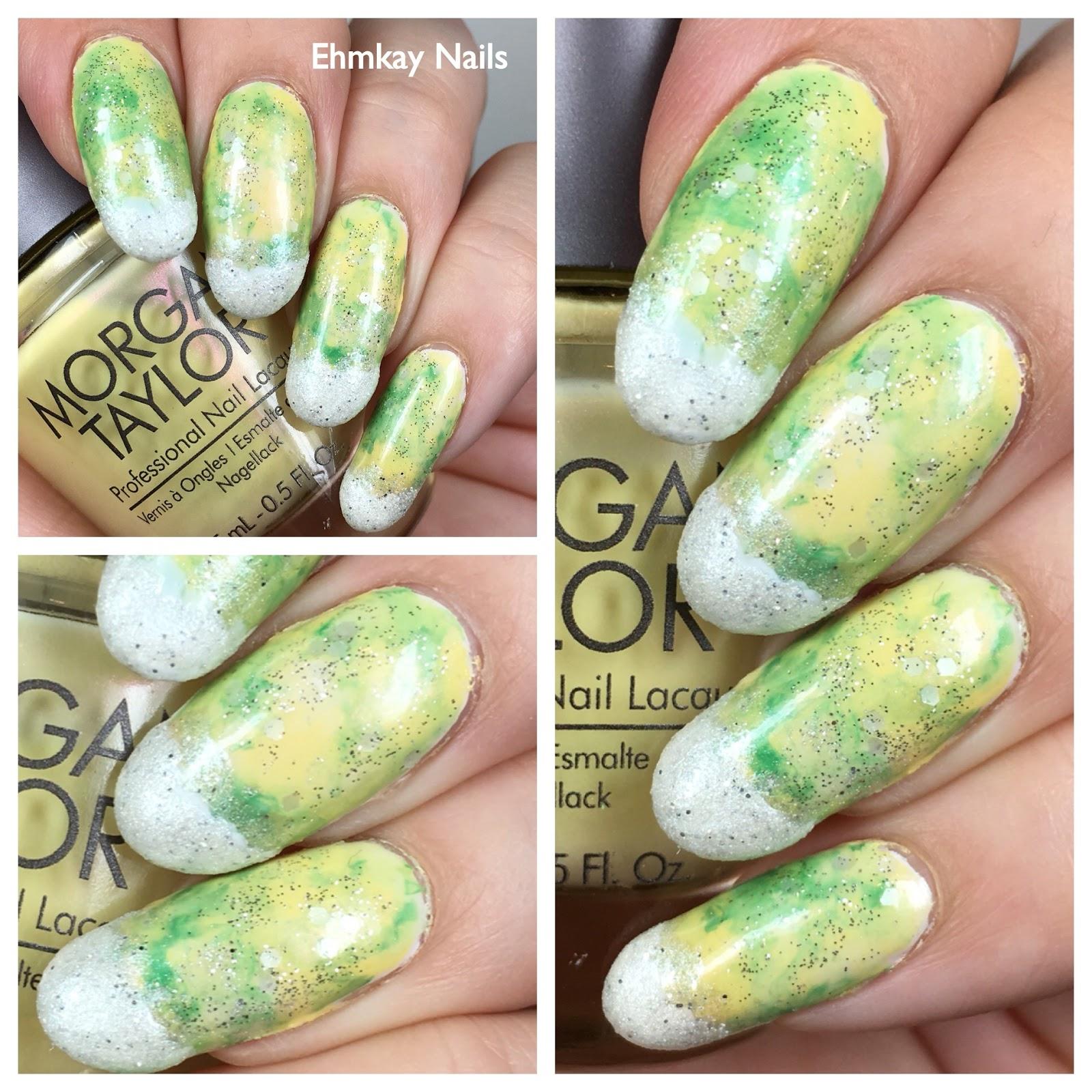 ehmkay nails: Margarita Nail Art