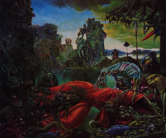 Max Ernst Tentazione di S.Antonio
