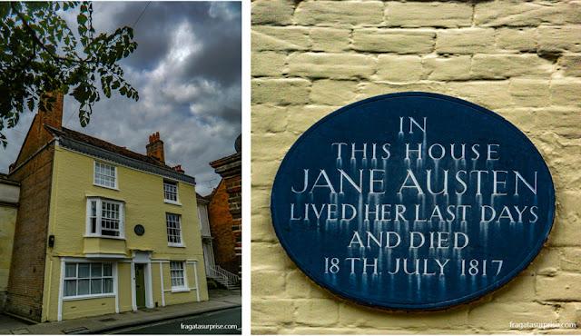 Casa de Jane Austen em Winchester, Inglaterra
